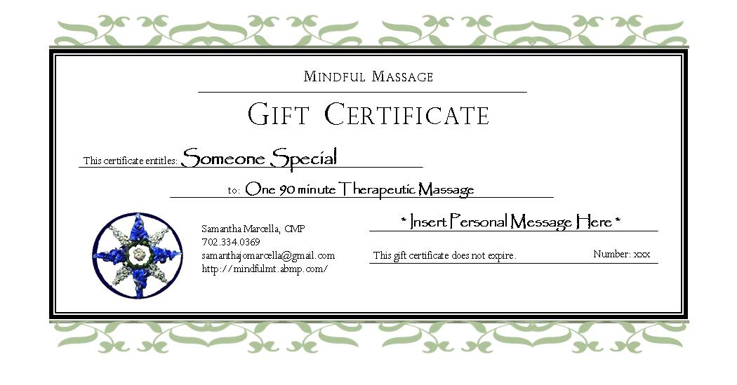 gift cards massage therapy mount laurel